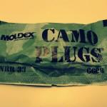 アメリカ製 高遮音性耳栓 Moldex CamoPlugs® レビュー