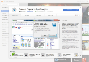 Chrome Web Store   Screen Capture 2 by Google