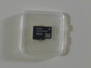 Lexar microSDHCカード Class10 16GB [フラストレーションフリーパッケージ (FFP)] LSDMI16GBJ