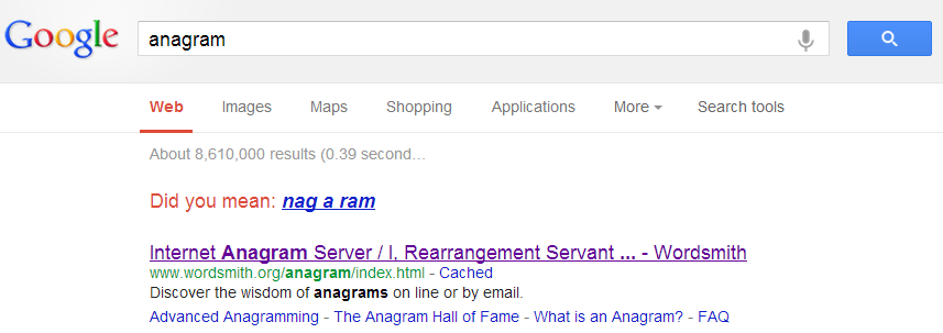 anagram - Google Search