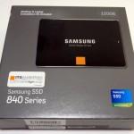 120GB最安のSSDをレビュー!! ~Samsung 840シリーズ ~MZ-7TD120K/IT~