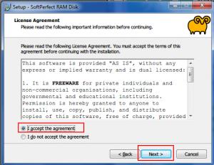 23. RAMDISK Installing softprefect pty.ltd