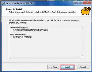26. RAMDISK Installing softprefect pty.ltd