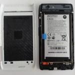 Motorola IS12M RAZR(au)の分解・付属品レビュー