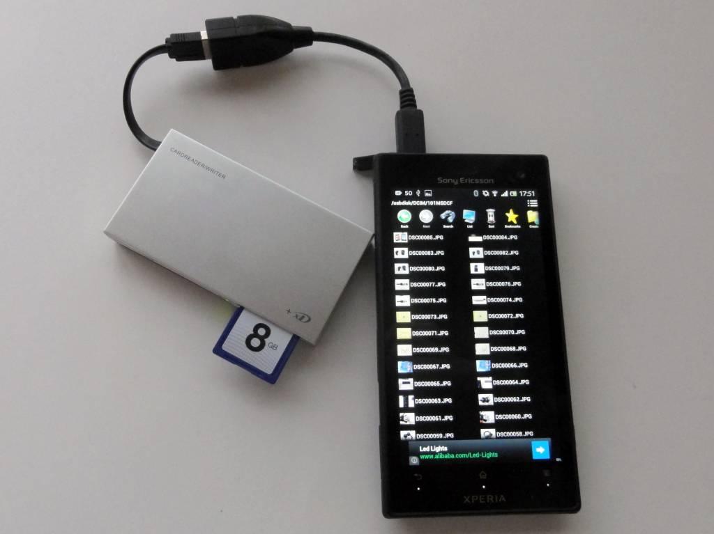 iBUFFALO BSCR11U2BK with Android by あずぺっく (2)