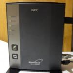 【レビュー】NAS・長距離なW-Fiルーター NEC Aterm WR8600Nのレビュー