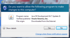 011. JDK install from oracle