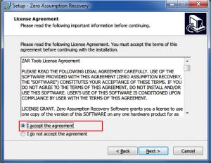 14. Zero Assumption Recovery Installing