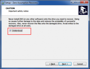 15. Zero Assumption Recovery Installing