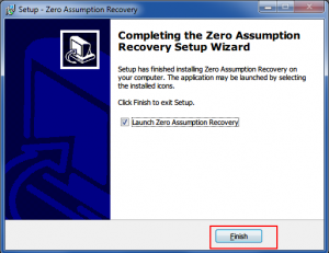 21. Zero Assumption Recovery Installing