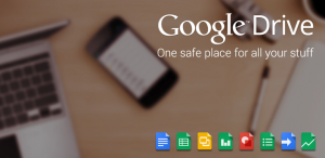Google Drive how to use Online storage Logo