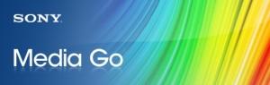 Sony Media Go logo 一番使いやすい音楽・動画プレーヤー プレイヤー Music Player Manager