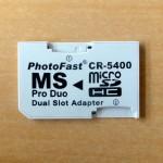 【レビュー】送料込み270円!MicroSDHCをMemoryStick Pro Duoに変換してみた