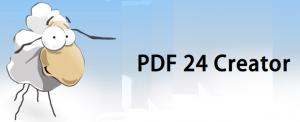 PDF24 Creater PDF編集ソフト 無料 Logo