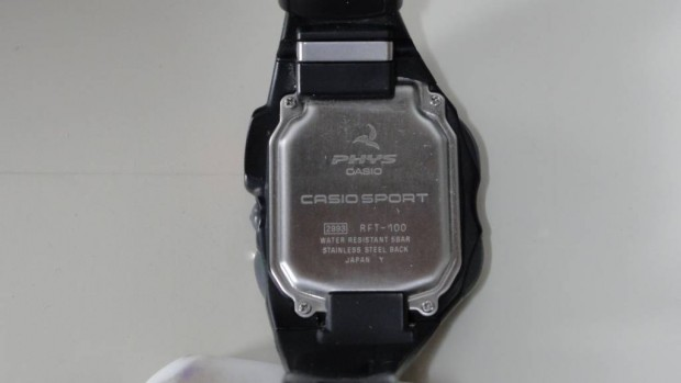 CASIO vibration watch PHYS 11 RFT-100-1JF (2)