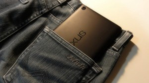 New Nexus7 2013 of japan review in jeans