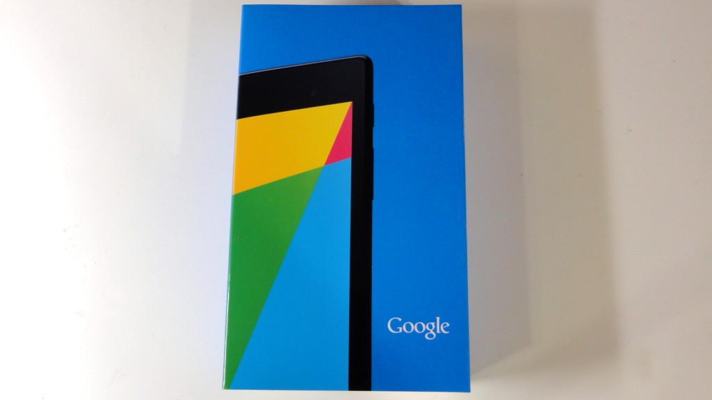 New Nexus7 2013 of japan review package (2)