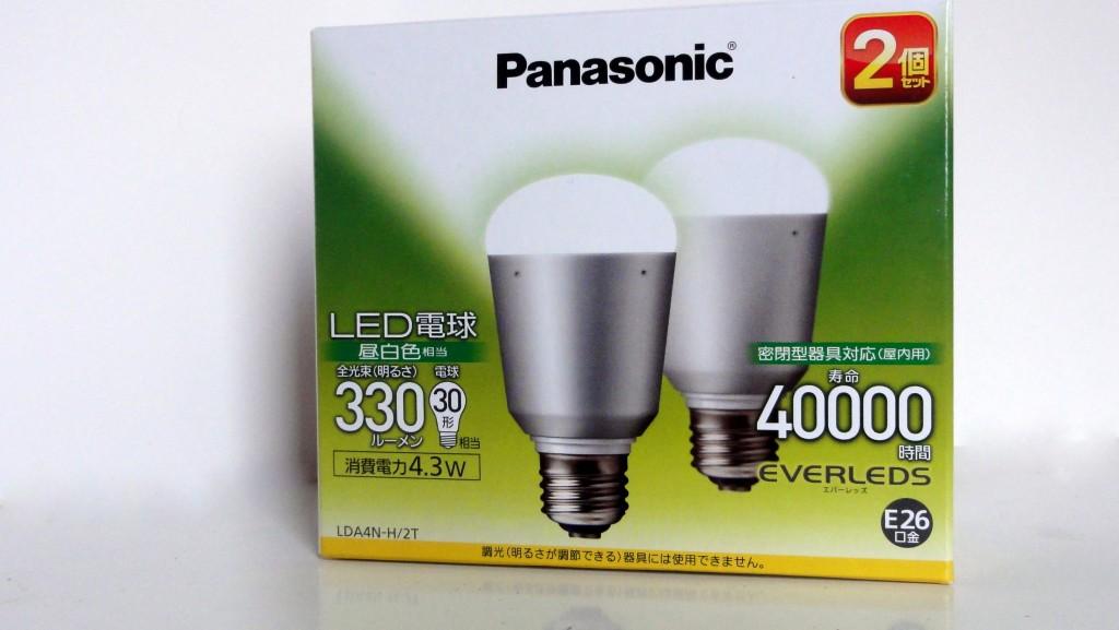 Panasonic LED bulb LDA4N-H2T (2)