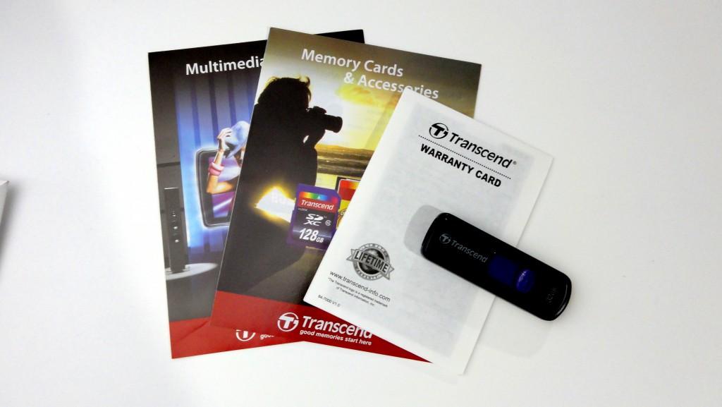 Transcend  TS32GJF500E USB memory with USB2.0 attachments