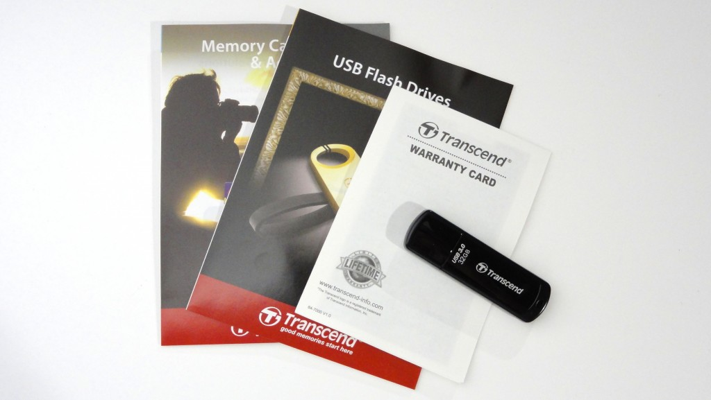 Transcend  TS32GJF700E USB memory with USB2.0 attachments