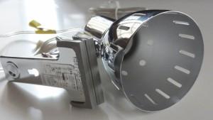 YAZAWA CLX605CH Clip Light E26 (1)