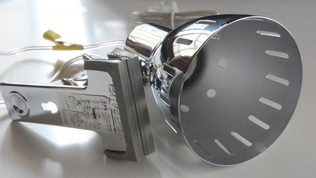 YAZAWA CLX605CH Clip Light E26