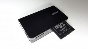 iBUFFALO  BSCR12U2BK usb media card reader (8)