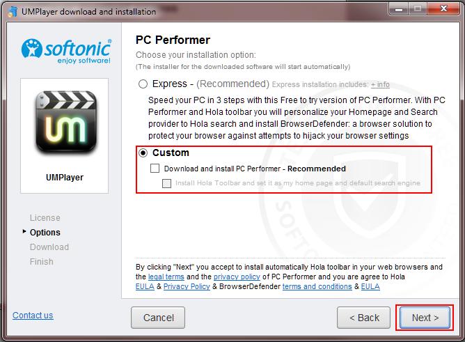 12 UMplayer installing