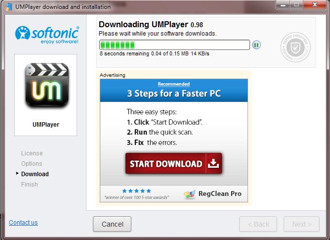 14 UMplayer installing