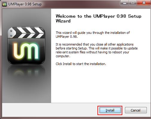 15 UMplayer installing