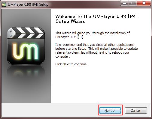17 UMplayer installing