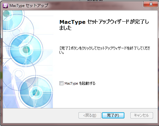 19 Mactype install