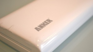 Anker Logo in Anker Astro M3 mobile battery