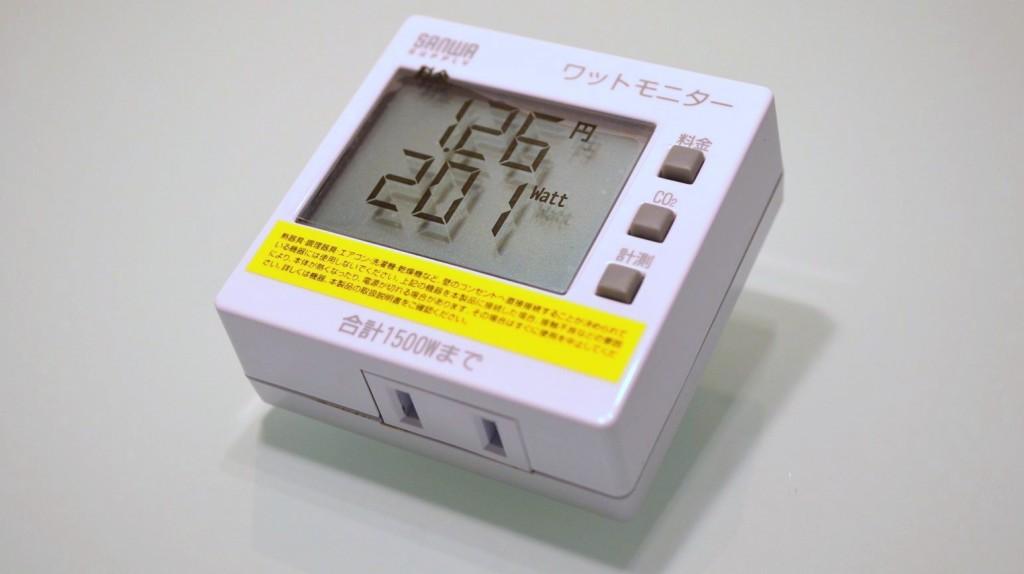 SANWA SUPPLY Watt monitor TAP-TST8 (6)