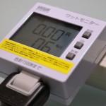 """【レビュー×楽しい】ワットチェッカー""""TAP-TST8""""で、消費電力を調べてみた"""