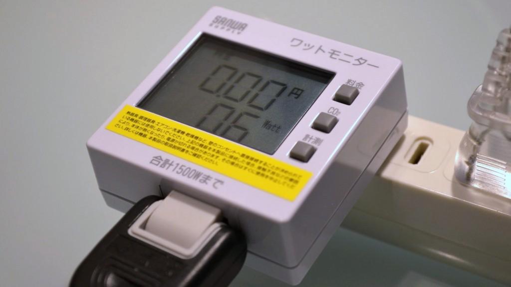 SANWA SUPPLY Watt monitor TAP-TST8 (7)