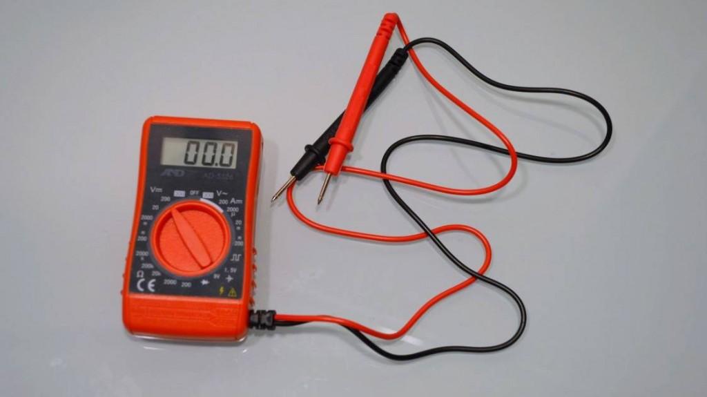Multimeter AD-5526 using (2)