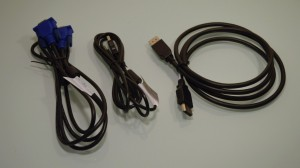 Dell P2314H IPS LCD monitor cables