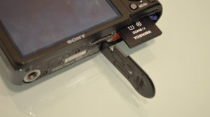 Toshiba SDHC card SD-K016GR7AR30 with camera