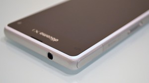 Xperia Z1 f SO-02F  design with waterproof