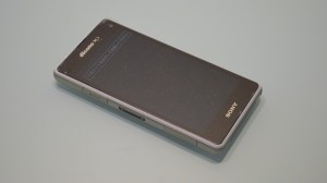 Xperia Z1 f SO-02F  front design