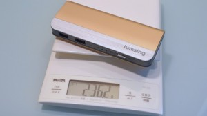 Lumsing Harmonica battery weight