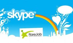 Skype and Rarejob