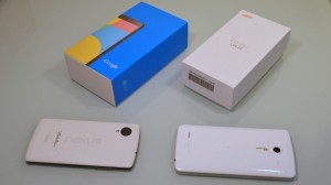 Comparison with nexus5 and isai