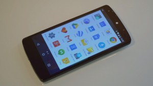 LG Nexus 5 homescreen