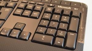 numberic keypad of microsoft CSD-00028 keyboard