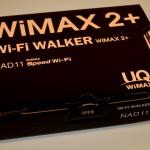【レビュー×NEC】 WiMAX 2+のNAD11が高速すぎる