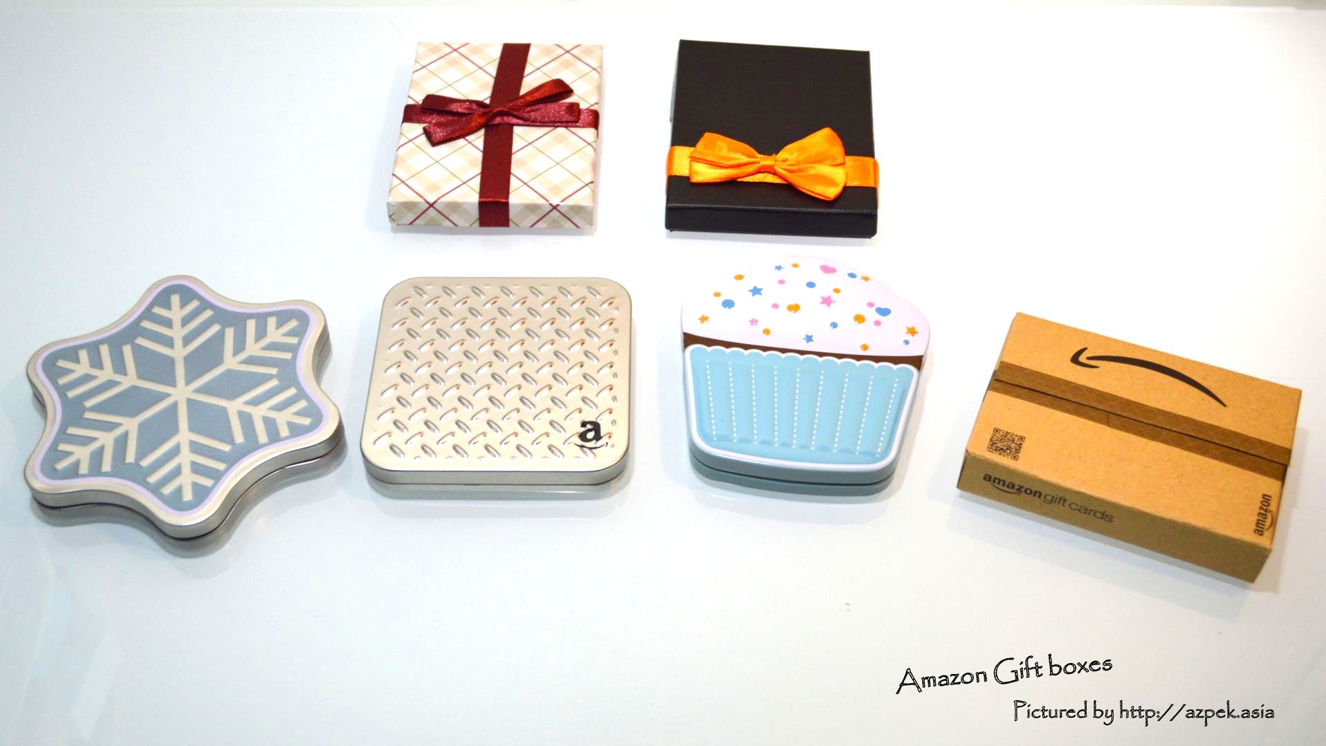 Amazon Gift Boxes sold in Japan
