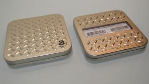 Amazon Gift Diamond plate Silver Plate (1)