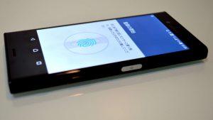 Xperia X Compact 指紋認証